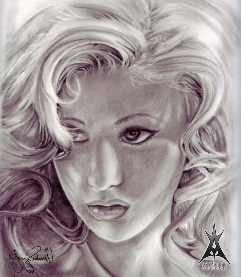 Christina Aguilera by ariess